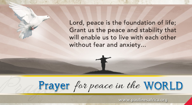 Prayer for Peace in Iraq